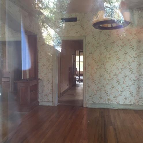 Interior de la casa de los Garvey
